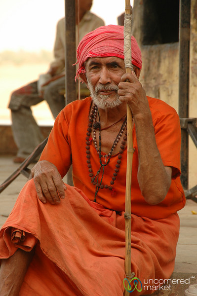 Elderly Holy Man - Varanasi, India