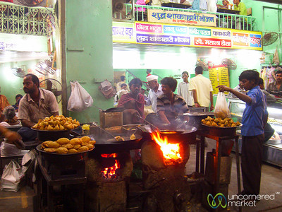 Street Eating in Varanasi, India