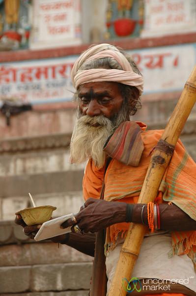 Lunch at the Ghats - Varanasi, India