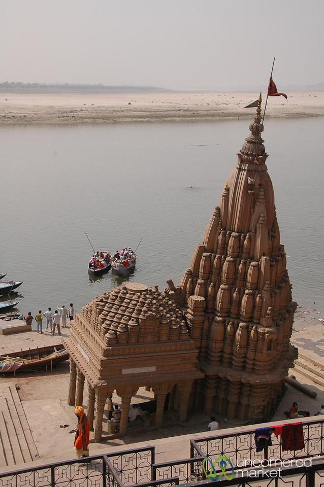 Boats Deparat from Dattatreya Ghat  -Varanasi, India