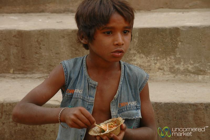 An Afternoon Snack - Varanasi, India