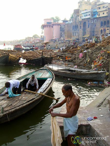 Dusk Near Manikarnika Ghat - Varanasi, India