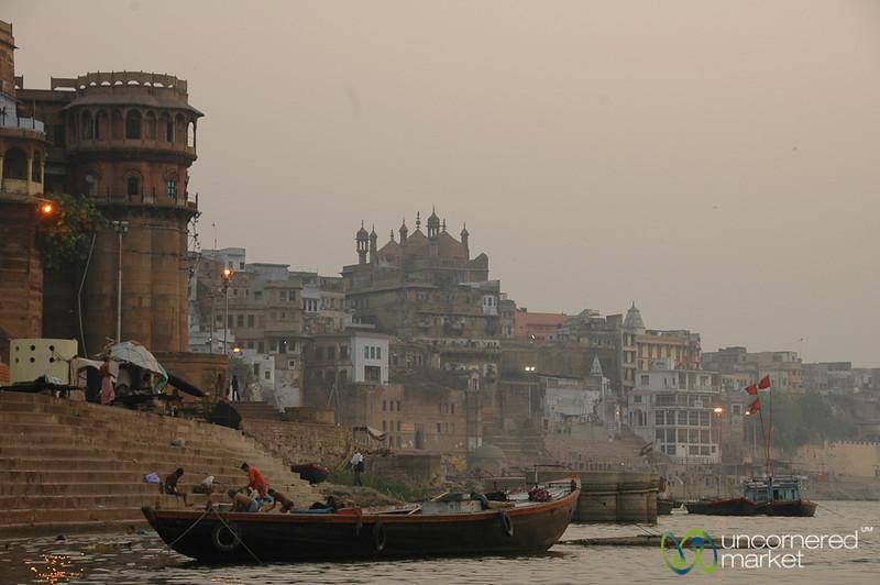 Early Morning Along the Ganges River - Varanasi, India