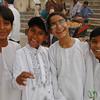 Friendly School Boys in Assi Ghat - Varanasi, India