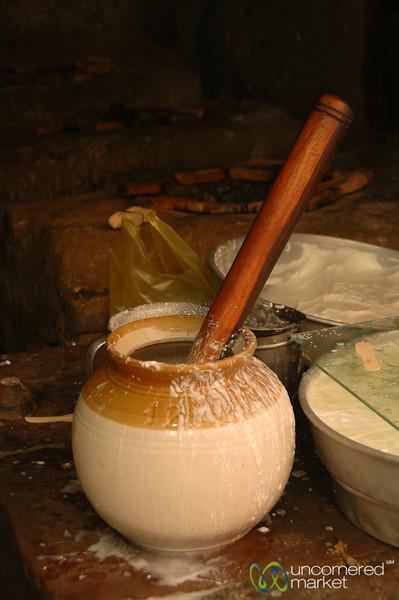 Fresh Yogurt - Varanasi, India