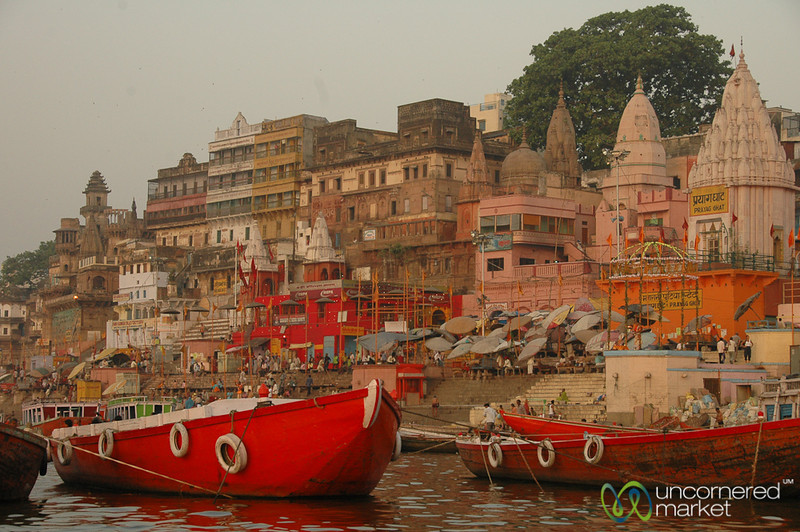 Along the Ganges at Dawn - Varanasi, India