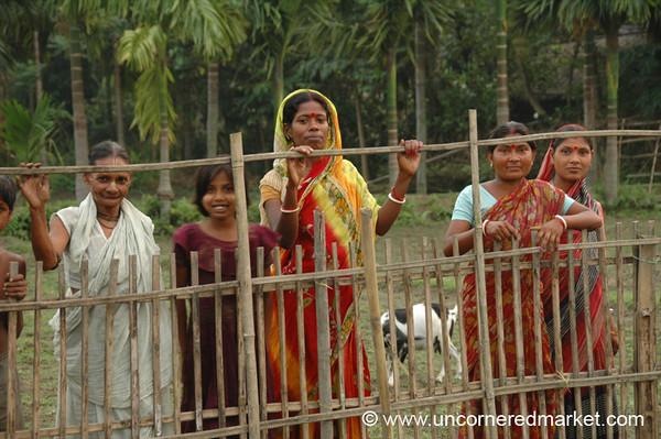 Rural Indian Women - West Bengal, India