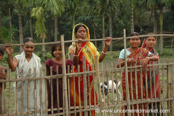 Rural Indian Women - West Bengal, India