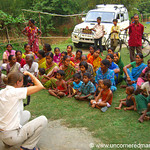 Photographing a Microfinance Group in West Bengal, India