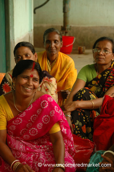 Microfinance Meeting of Indian Woman - West Bengal, India