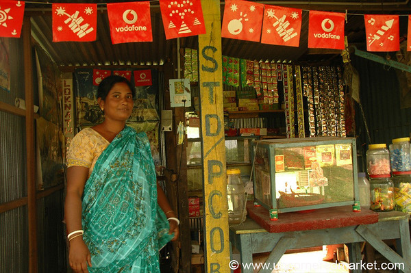 Woman at her Small Business - West Bengal, India