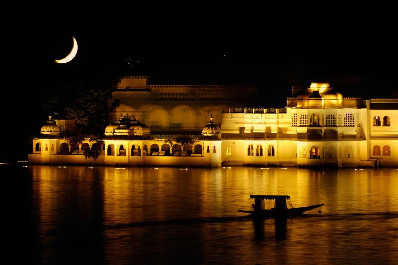 Udaipur Lake Palace at night