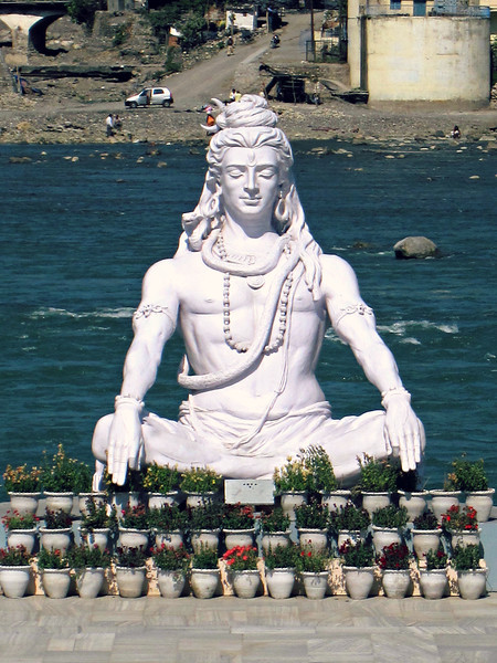Shiva on the Ganges River