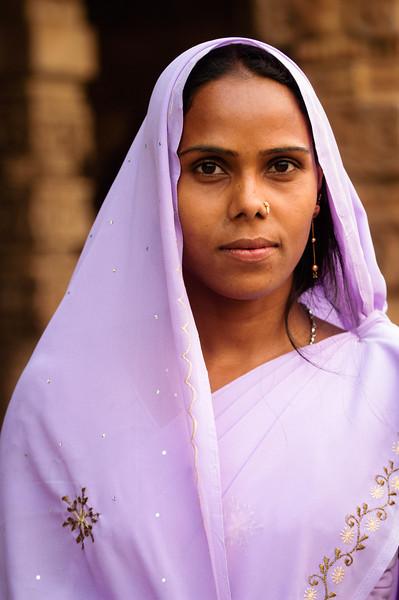 Delhi portrait