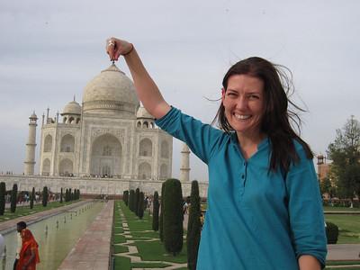 Holding the Taj