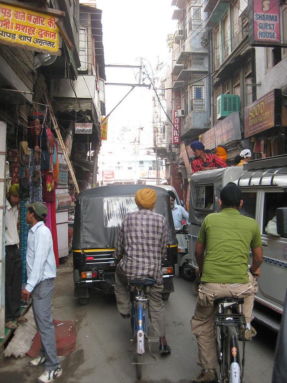 traffic in Amritsar