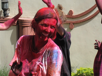 Dancing to the Holi Beat