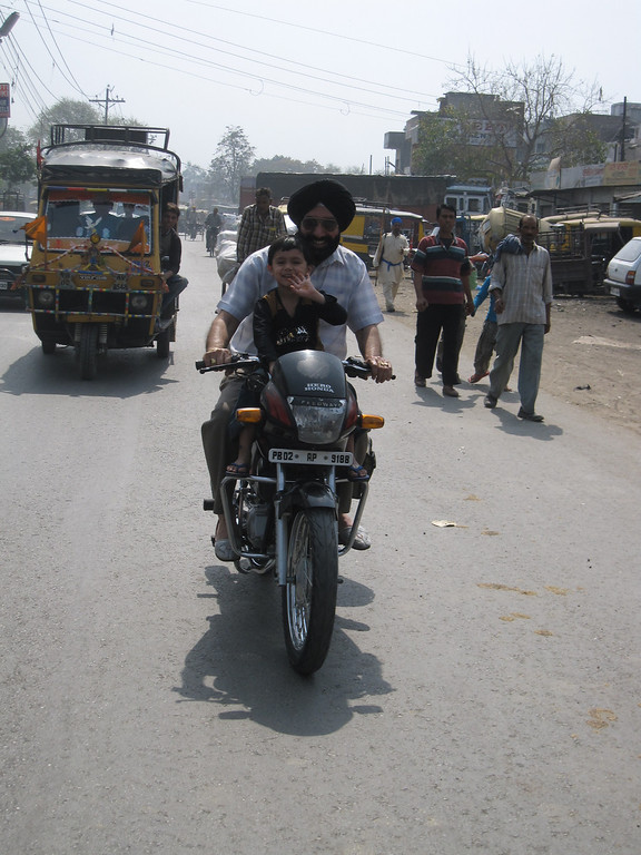 streets of Amritsar, India