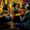 Musicians at Legong & Barong Dance, Balerung Stage, Ubud