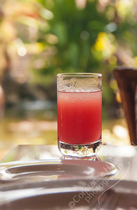Nusa Dua Resort, Bali - watermelon juice