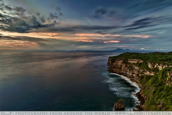 Uluwatu Cliff At Sunset - Uluwatu Temple - Bali, Indonesia