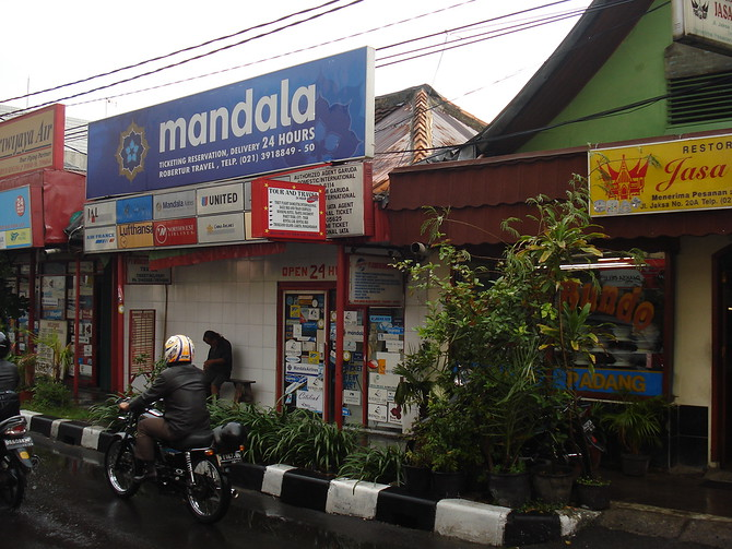 Jalan Jaksa Travel Agent