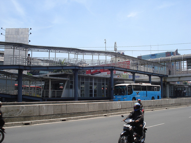 Transjakarta Bus Station