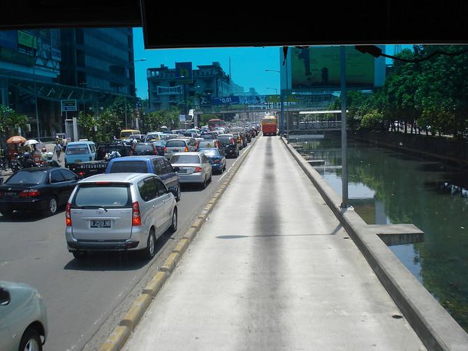 Transjakarta Bus Lane
