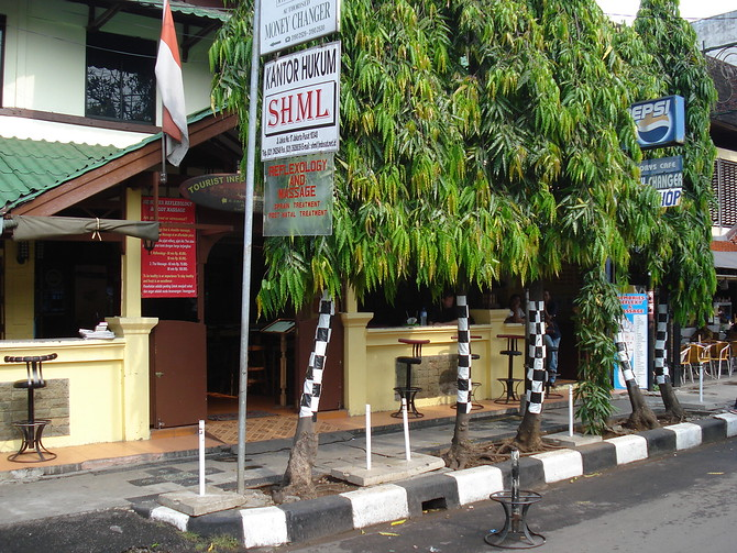 Cafe on Jalan Jaksa