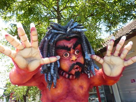 Ogoh-Ogoh Parade, Ubud Bali - Indonesia