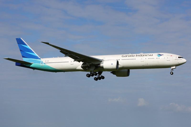 "PK-GIE Boeing 777-3U3ER ""Garuda Indonesia"" c/n 29147 Amsterdam/EHAM/AMS 21-06-14"