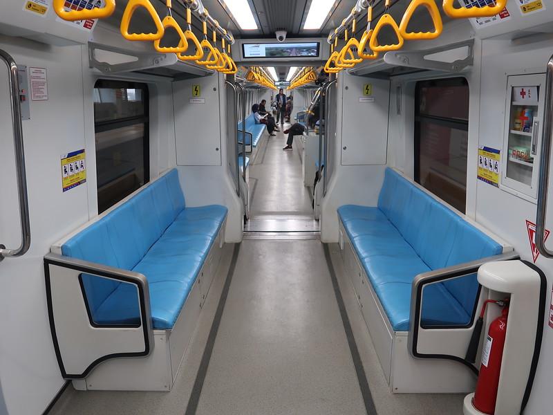 LRT bench seats