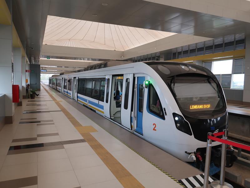 Sultan Mahmud Badarudin 2 - airport station