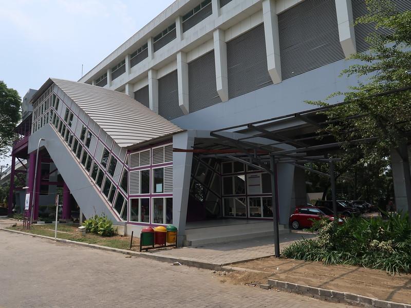 Bumi Sriwijaya entrance