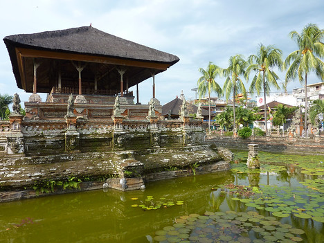Bale Kambang (Floating House), Semarapura Bali - Indonesia