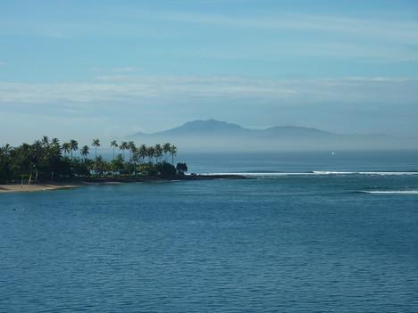 Morning Mist, Senggigi Lombok - Indonesia