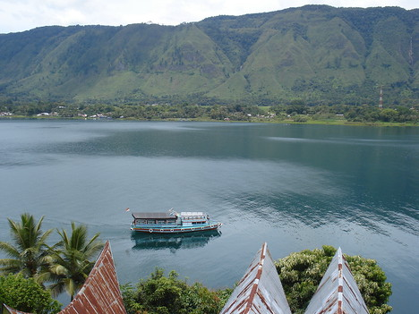 Lake Toba Ferry, Tuk Tuk - Indonesia