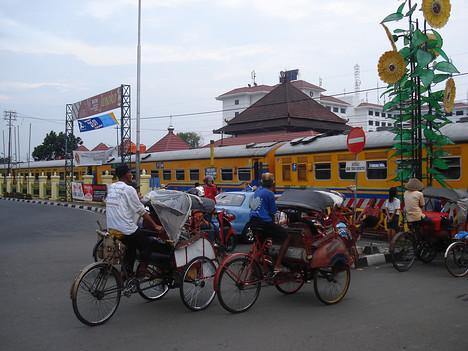 Yogyakarta Railway Crossing, Yogyakarta - Indonesia