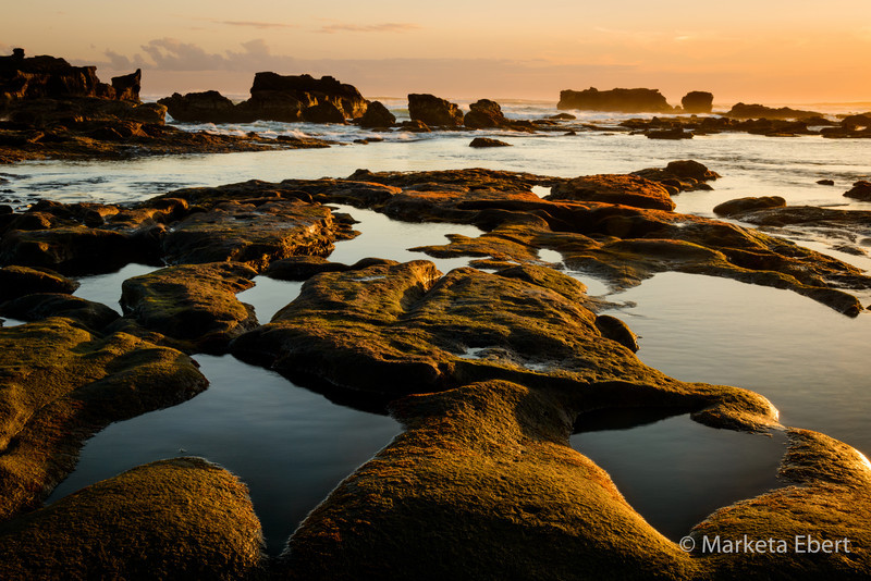 Sunset on Mengening Beach