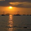 Yachts / Sunset<br /> <br /> Labuan Bajo, Flores, Indonesia