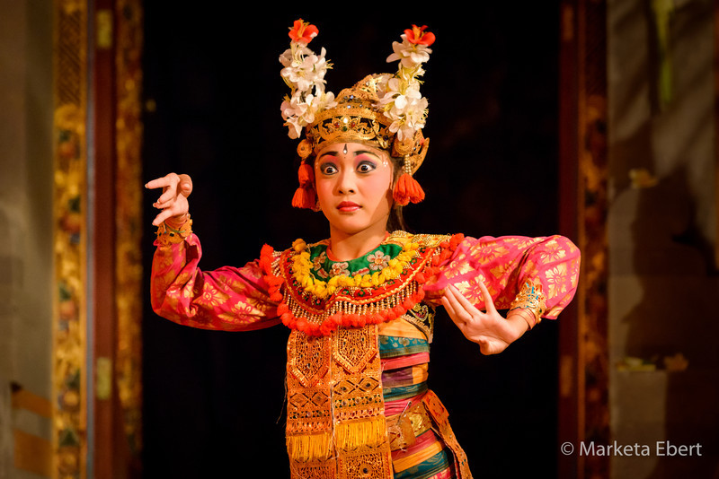 Young Balinese dancer