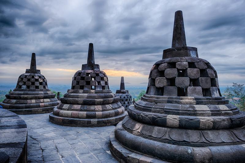 Borobudur temple HDR