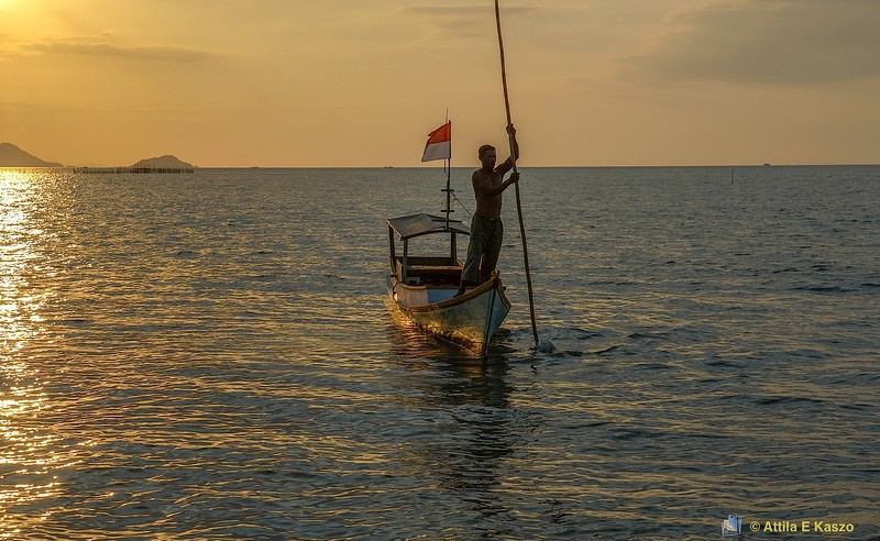 Fishing Boats / Sunset<br /> <br /> Labuan Bajo, Flores, Indonesia
