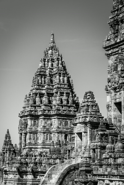 Prambanan temple towers, Java