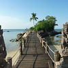 In Indonesia, dvarapalas (stone guardians) protect entryways, paths, and bridges, as seen here on Batam Island.