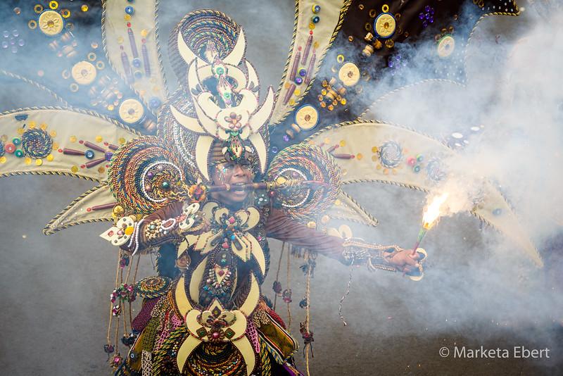 Spectacular Jember Fashion Carnival parade