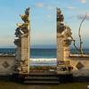 Hindu Temple 16 C. - Main Entrance<br /> <br /> Candi Dasa, Bali, Indonesia