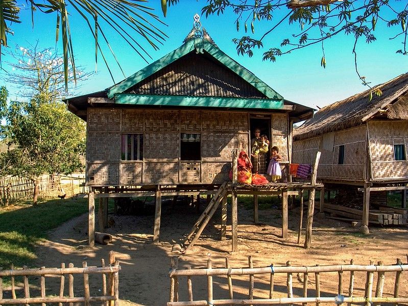 Traditional Houses - Naga Na'e Village<br /> Labuan Bajo, Flores, Indonesia
