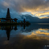 Sunrise at Ulun Danu Temple
