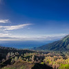 The slopes of Mount Ijen in East Java